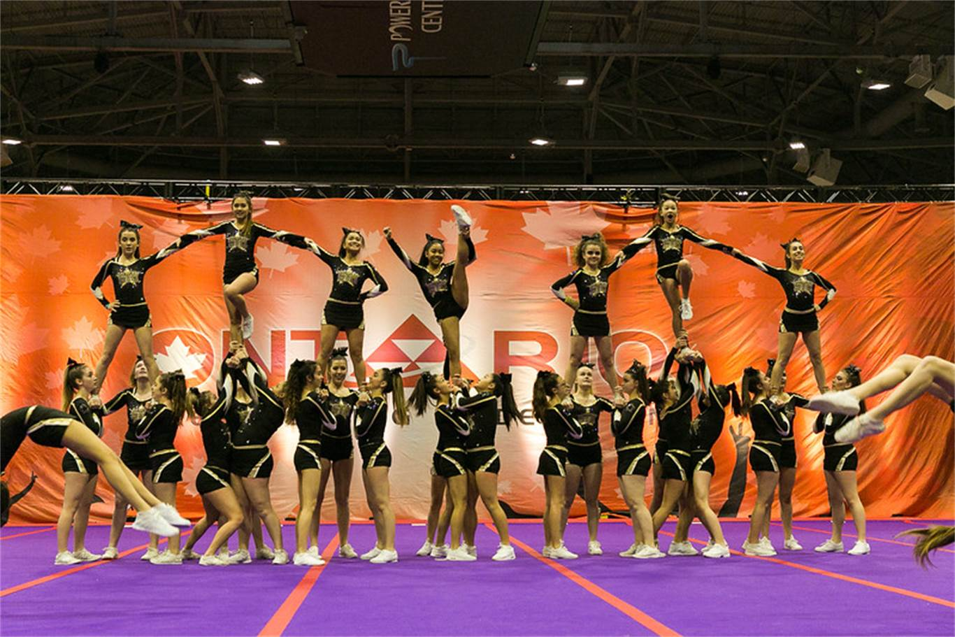 MORE girls take first place in cheer competition