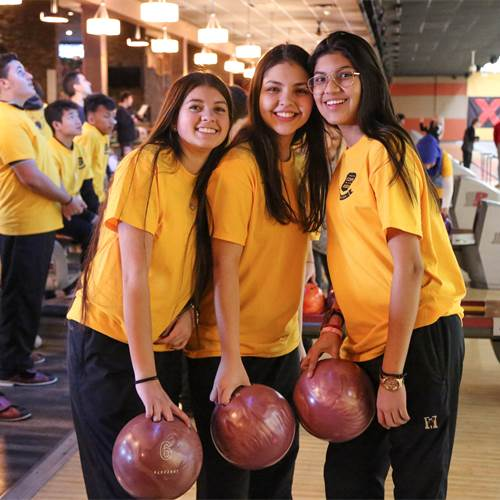ESL students strike up friendly bowling match with Hamilton Police