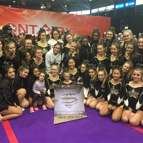 MORE Cheer takes home gold at Ontario Challenge
